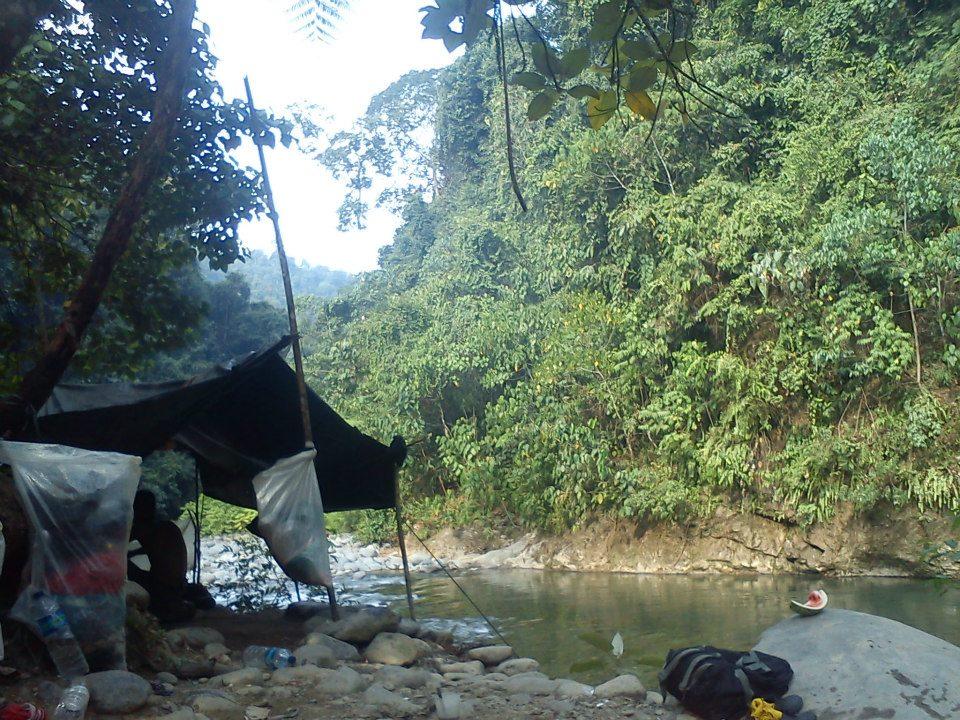 Trekking i Indonesien